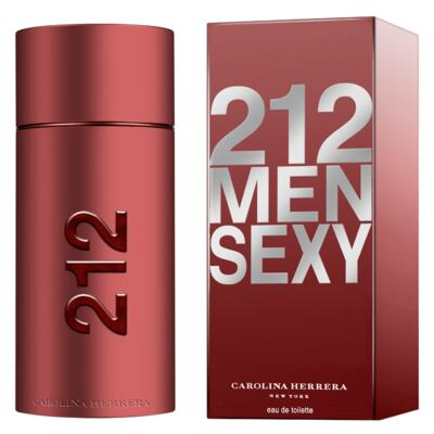 Imagem 2 do produto 212 Sexy Men Carolina Herrera - Perfume Masculino - Eau de Toilette - 50ml