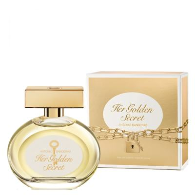Imagem 2 do produto Her Golden Secret Antonio Banderas - Perfume Feminino - Eau de Toilette - 80ml