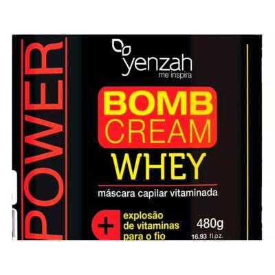 Imagem 2 do produto Yenzah Power Whey Bomb Cream - Máscara Capilar - 480g