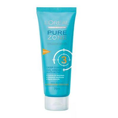 Imagem 4 do produto Kit Adstringente Anti-Cravos + Hidratante Facial + Limpador Facial L'Oréal Paris Pure Zone - Kit