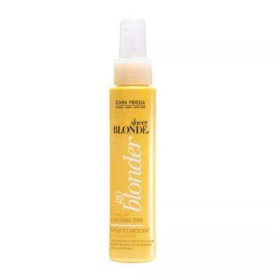 Imagem 2 do produto Kit Shampoo + Condicionador + Spray John Frieda Sheer Blonde Go Blonder Lightening - Kit