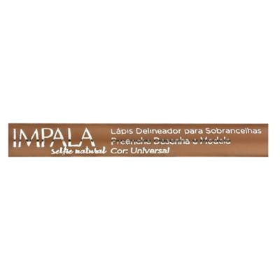 Imagem 4 do produto Lápis Delineador para Sobrancelhas Selfie Natural Impala - Universal