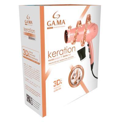 Imagem 6 do produto Keration 3D Pro Ga.Ma Italy - Secador de Cabelo 2200W - 220v