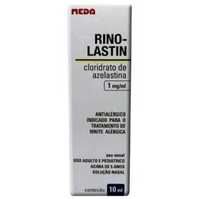 Rino-Lastin Solução Nasal - 1mg/ml   10ml