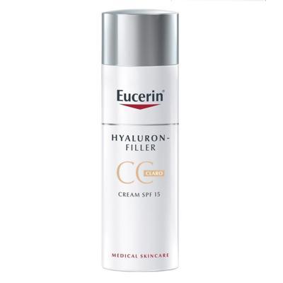 Imagem 2 do produto CC Cream Eucerin Hyaluron-Filler - FPS 15, Claro, 50mL - 50mL