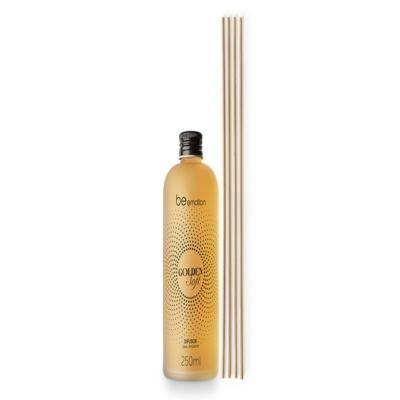Imagem 1 do produto Difusor de Ambiente com Vareta Golden Soft Be Emotion