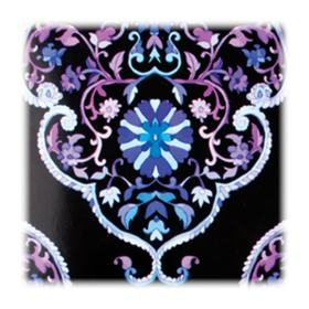 WetBrush Pro Floral Collection - Escova de Cabelo - Roxa