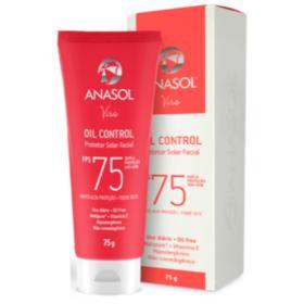 ANASOL FACIAL OIL CONTROL FPS 75 75 G - ANASOL FACIAL OIL CONTROL FPS 75 75 G