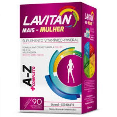 Lavitan mais mulher A-Z 90 comprimidos