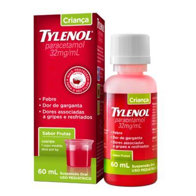 Tylenol Bebê Oral Sabor Frutas 100mg/mL 15mL
