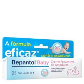Bepantol Baby - caixa com 1 bisnaga com 30g de creme de uso dermatológico