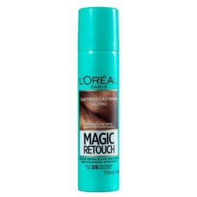 Retoque de Raiz  Spray Instantâneo Magic Retouch - Castanho Claro | 75ml