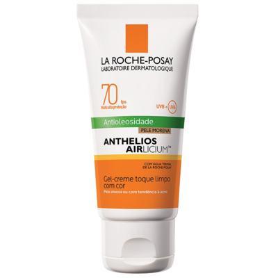 Imagem 4 do produto Protetor Solar Facial com Cor La Roche-Posay - Anthelios Airlicium Fps70 - Morena