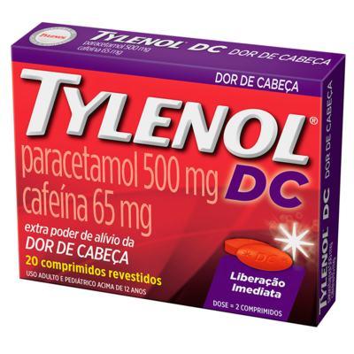 TYLENOL DC 20 Comprimidos