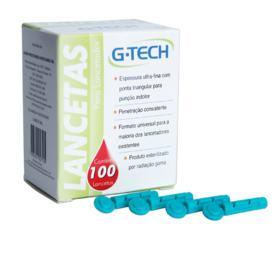 Lancetas G-Tech - 100 unidades