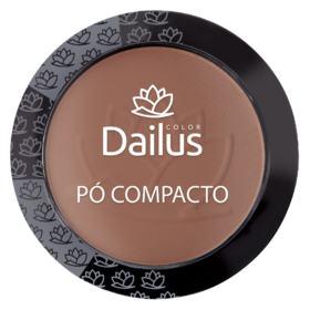 Pó Compacto Dailus  - New - 10 - Marrom Claro