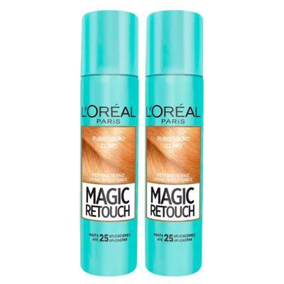 Imagem 3 do produto L'Oréal Paris Magic Retouch + Ganhe Cicatri Renov Kit - Leave-In + 2 Corretivos Capilar Louro Claro - Kit