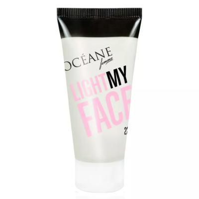 Imagem 4 do produto Océane Light My Face + Complete Correction Kit - Iluminador Facial + CC Cream - Kit
