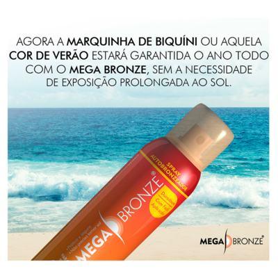 Imagem 2 do produto Mega Bronze - Spray Autobronzeador - 150ml