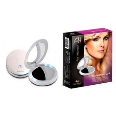 Imagem 2 do produto Espelho de Bolsa com LED Relaxbeauty - Pocket Mirror USB Ana Hickmann - 1 Un
