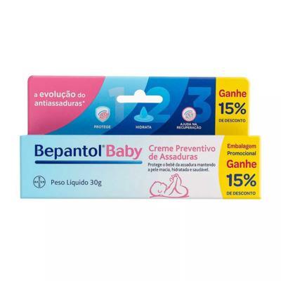 Imagem 1 do produto Bepantol Baby Creme Preventivo de Assaduras 30g Ganhe 15% de Desconto