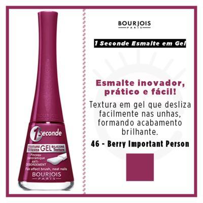 Imagem 4 do produto 1 Seconde Gel Bourjois - Esmalte - 46 - Berry Important Person