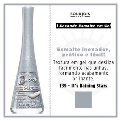 Imagem 4 do produto 1 Seconde Gel Bourjois - Esmalte - T39 - its Raining Stars