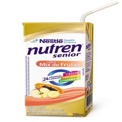 Imagem 4 do produto Suplemento Alimentar Nestlé Nutren Senior Mix de Frutas 200ml