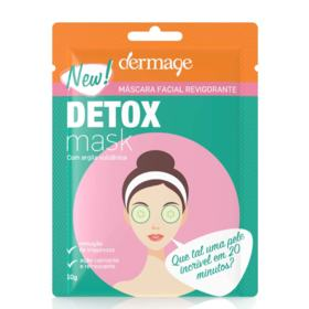 Máscara Facial Revigorante Dermage - Detox Mask - 10g