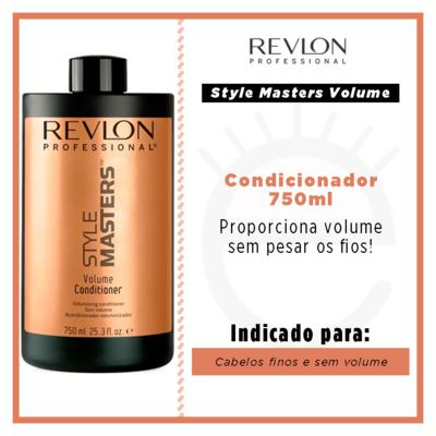 Imagem 2 do produto Revlon Professional Style Masters Volume - Condicionador - 750ml