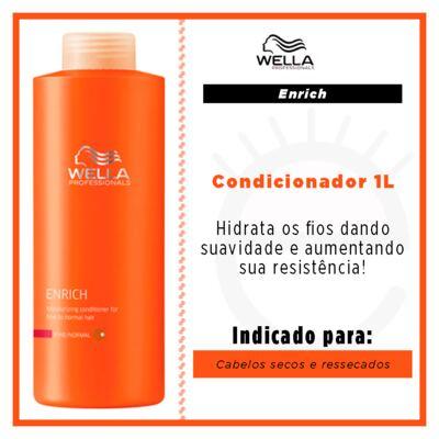 Imagem 2 do produto Wella Professionals Enrich - Condicionador Tamanho Professional - 1L