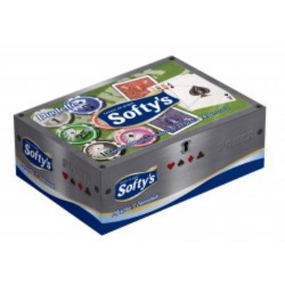 Imagem 1 do produto Lenço De Papel Softys com 100