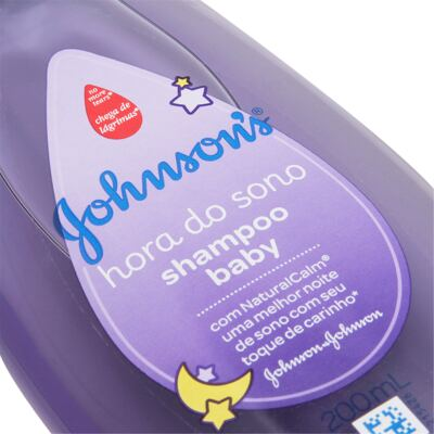 Imagem 2 do produto Shampoo Johnson's Baby Hora do Sono 200ml