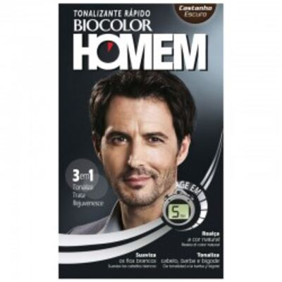 Imagem 1 do produto Tintura Biocolor Homem Coloração Castanho Escuro
