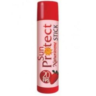 Imagem 1 do produto Protetor Labial Naturavene Sun Protect Morango FPS 20 45g