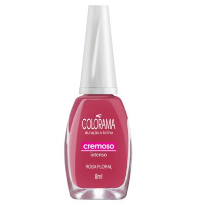 Imagem 1 do produto Esmalte Colorama Cremoso Rosa Floral - 8ml
