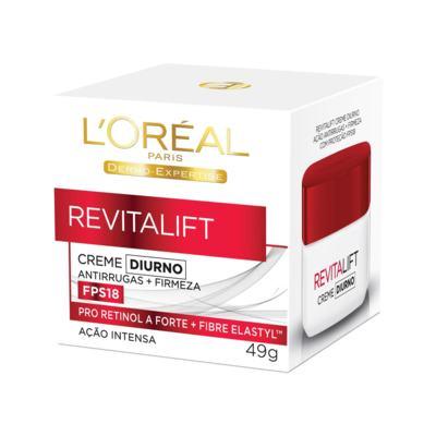 Imagem 1 do produto Creme Diurno L'Oréal Dermo Expertise Revitalift Fps 18 49g