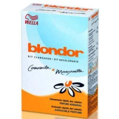 Imagem 1 do produto Kit Clareador Blondor Camomila