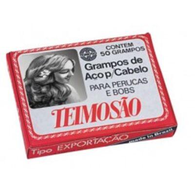Imagem 1 do produto Grampos De Cabelo Teimosão Preto N.7 C/50