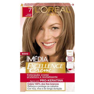 Imagem 1 do produto Tintura Imédia L'Oréal 7 Louro Natural