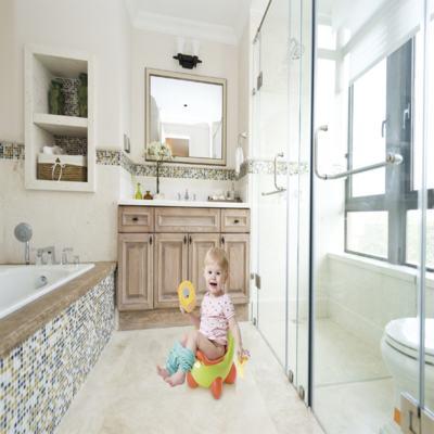 Imagem 3 do produto Troninho Infantil 2 Em 1 Learn Style Rosa Multikids Baby - BB198