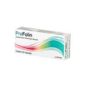 Prefolin - 30 cápsulas