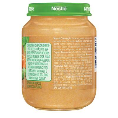 Imagem 2 do produto Papinha Nestlé Legumes e Carme 170g