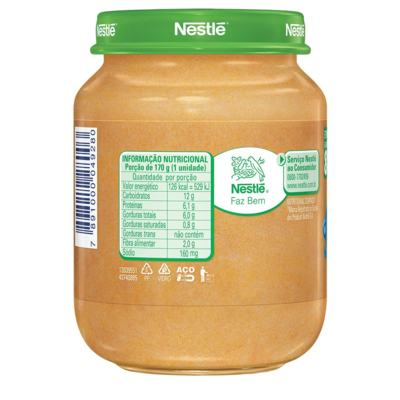 Imagem 3 do produto Papinha Nestlé Legumes e Carme 170g