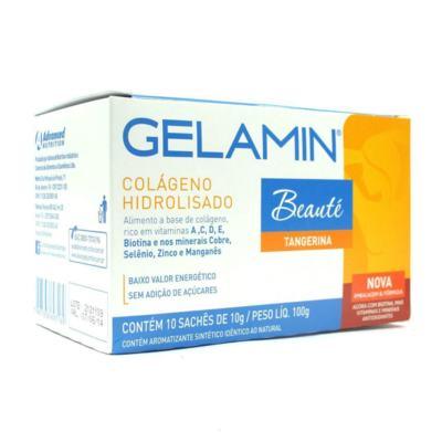 Imagem 1 do produto Gelamin Advanced Envelope 10g 10 Unidades