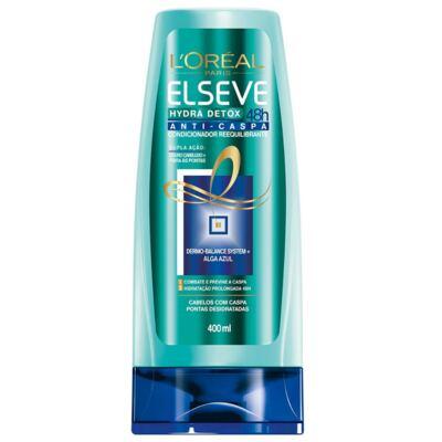 Imagem 3 do produto Kit Elseve Hydra Detox 48h Anti-Caspa Shampoo + Condicionador 400ml