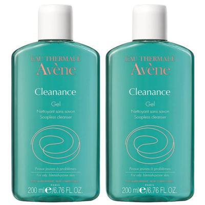 Imagem 1 do produto Gel de Limpeza Corporal Avène Cleanance 200ml 2 Unidades