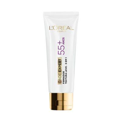 Imagem 3 do produto Kit L'Oréal Solução de Limpeza Facial Água Micelar 200ml + Creme Antissinais Idade Expert 55+ 40ml