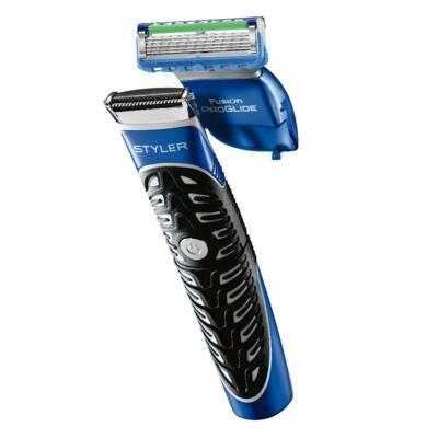 Imagem 4 do produto Kit Gillette Aparelho Barbeador Styler + Acessórios + Gel de Barbear Fusion Proglide Hidratante 198g
