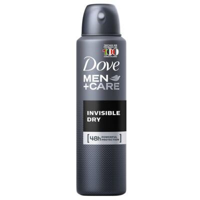 Imagem 3 do produto Kit Desodorante Aerosol Dove Invisible Dry Feminino 100g + Desodorante Aerosol Dove Men Care Invisible Dry Masculino 89g
